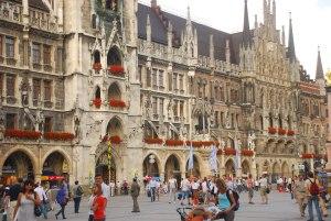 Marienplatz di Munich